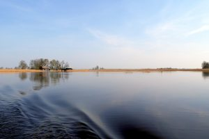 Giethoorn lakes and swamps